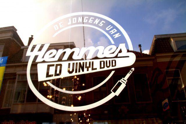 De Jongens van Hemmes record store