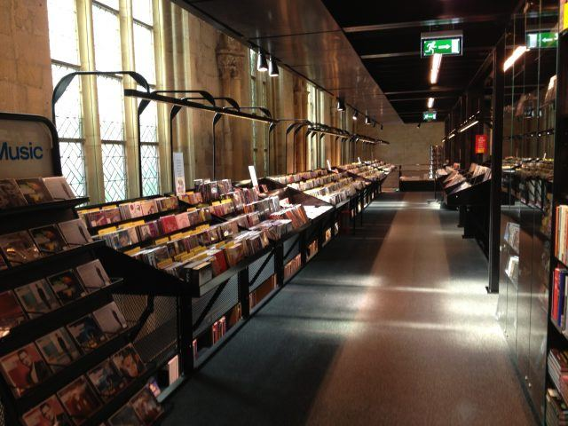 Boekhandel Dominicanen muziekafdeling