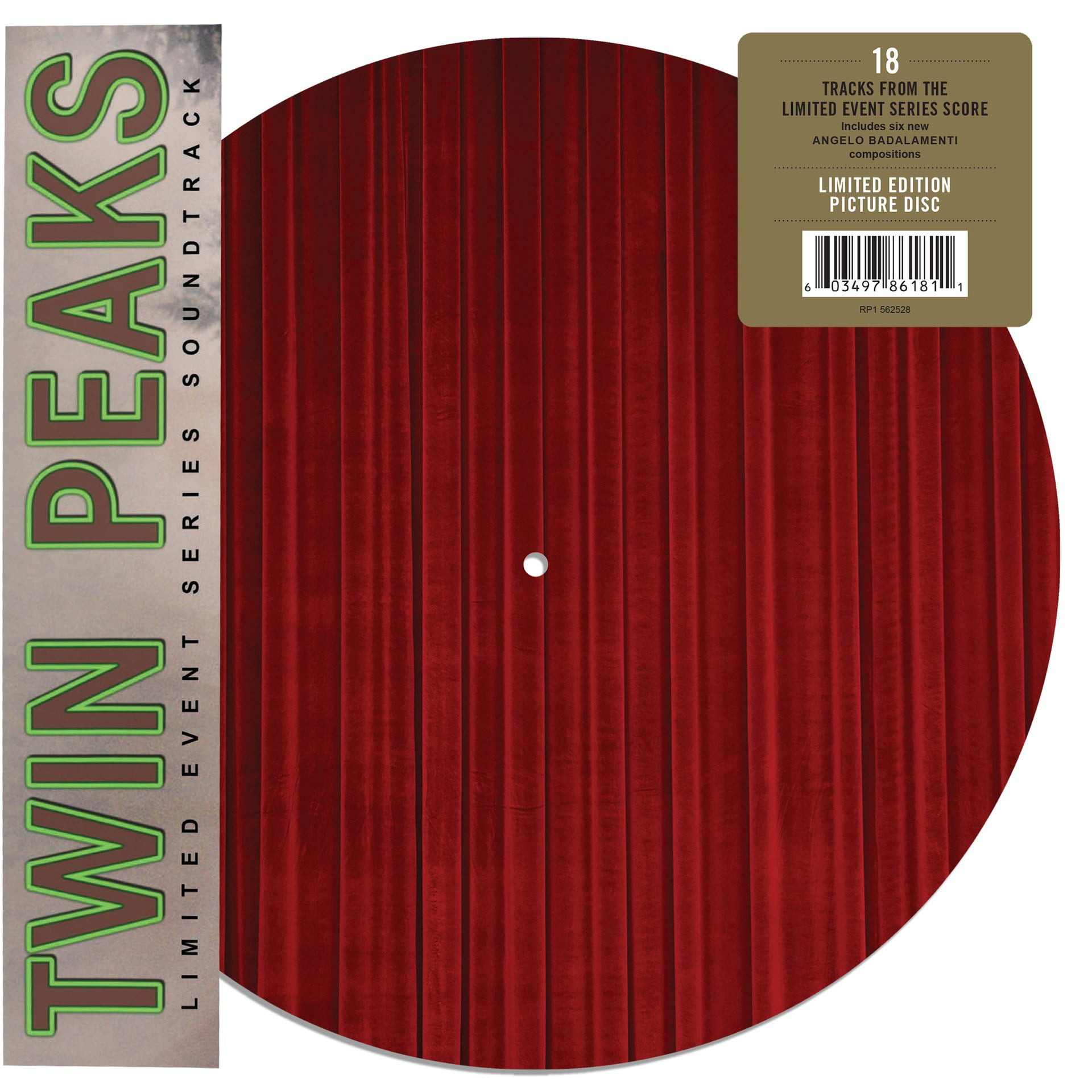 Twin Peaks Limited Event Series Soundtrack Record Store Day