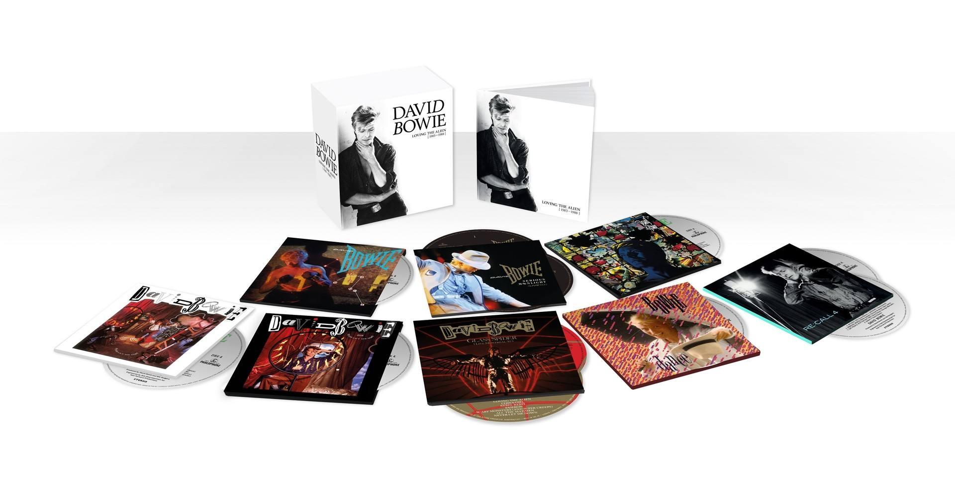 Afbeeldingsresultaat voor Bowie, David-Loving The Alien -11 cd Boxset-